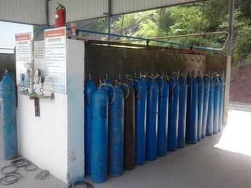 चीन Liquid Air Gas Separation Plant ,  Skid-mounted Oxygen Plant Filling Cylinder Decive वितरक